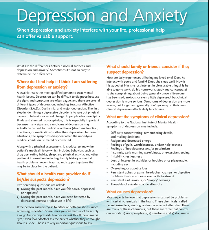 what is depression and anxiety
